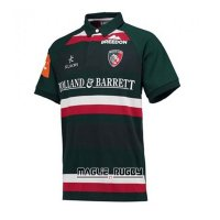 Maglia Leicester Tigers Rugby 2017-2018 Home