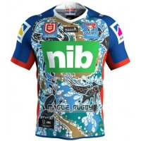 Maglia Newcastle Knights Rugby 2019 Indigeno